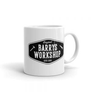 Barry's Workshop Mug – Black Logo