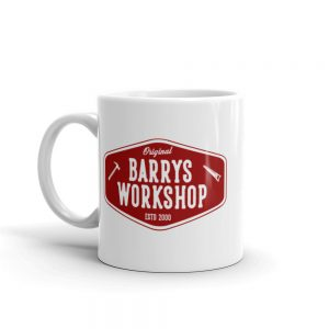 Barry's Workshop Mug – Red Logo