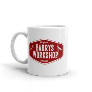 Barry's Workshop Mug – Red Logo