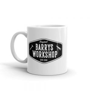 Barry's Workshop Mug – Black Logo